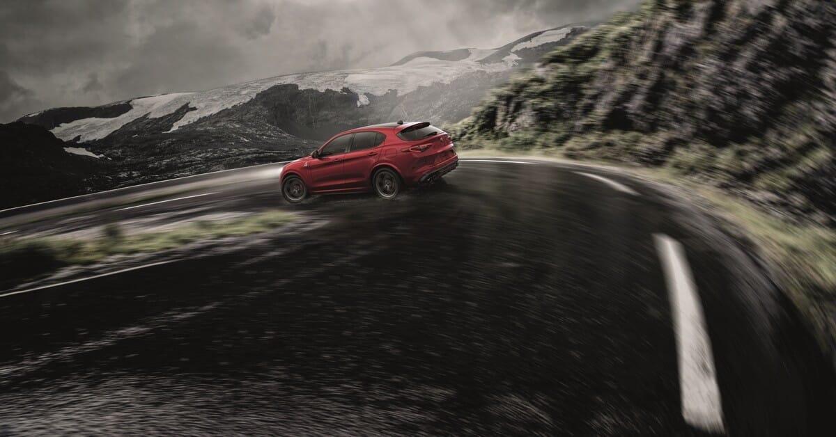 Alfa Romeo Stelvio, Stilfser Joch