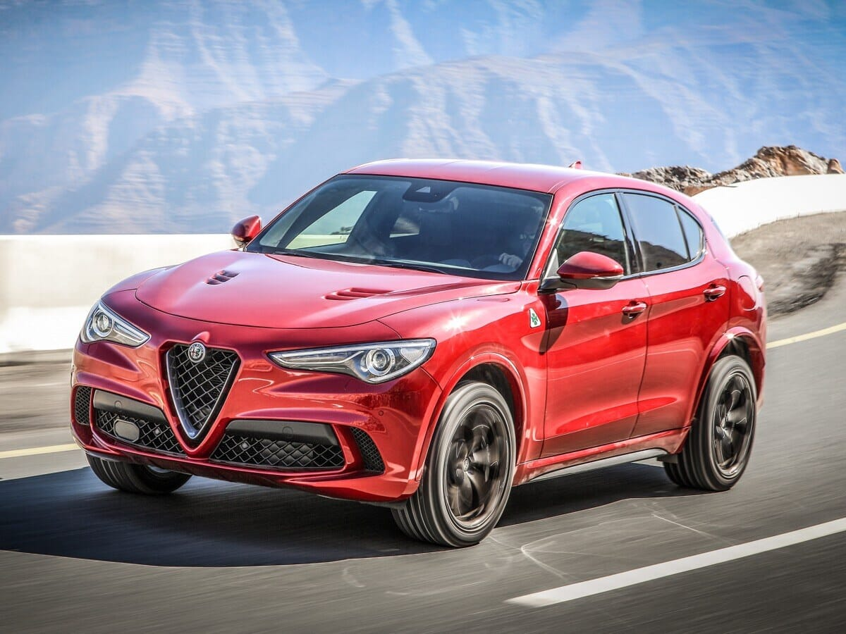 Der neue Alfa Romeo SUV Stelvio Quadrifoglio 510ps